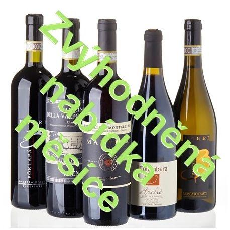 Degustační sada - Vína z 'nejlepších poloh' Itálie