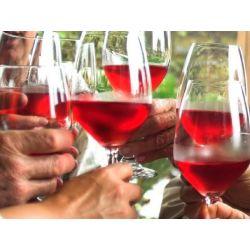 Sada vín rosé