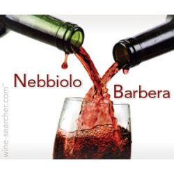 Srovnávací sada vín Barbera - Nebbiolo