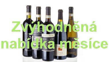 """Sada měsíce - výběr vín Nebbiolo II. - """"pro vychutnání"""""""
