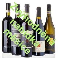 Zvýhodněná nabídka měsíce - Sada 'barevných' vín, bílých i červených