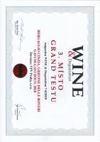 Wine & Degustation: ocenění pro víno Gerifone delle Roveri