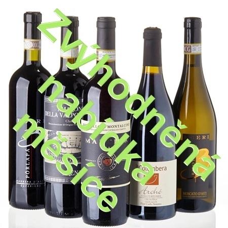 Zvýhodněná nabídka měsíce - výběr vín odrůdy Nebbiolo